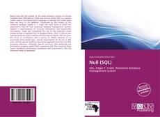 Null (SQL) kitap kapağı