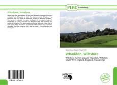 Bookcover of Whaddon, Wiltshire
