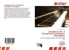 "Symphony No. 3 ""Symphonie Liturgique"" (Honegger)的封面"