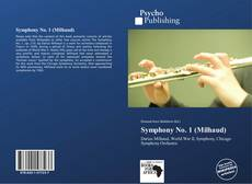 Bookcover of Symphony No. 1 (Milhaud)