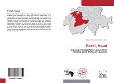 Portada del libro de Forel, Vaud