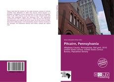 Bookcover of Pitcairn, Pennsylvania