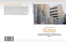 Bookcover of Glen Osborne, Pennsylvania