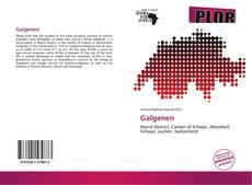 Bookcover of Galgenen