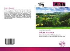 Bookcover of Priors Marston