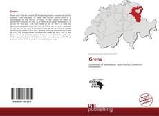 Capa do livro de Grens