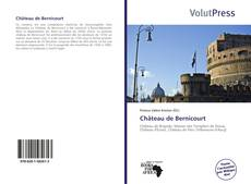 Capa do livro de Château de Bernicourt