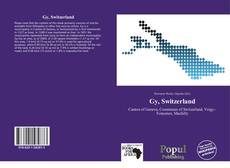 Capa do livro de Gy, Switzerland