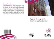 Portada del libro de Lyons, Pennsylvania