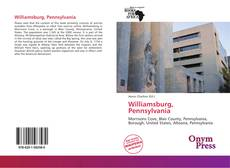 Bookcover of Williamsburg, Pennsylvania