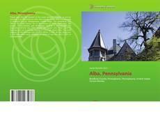 Capa do livro de Alba, Pennsylvania