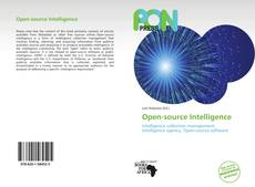 Bookcover of Open-source Intelligence