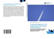 Lockheed Martin F-35 Lightning II Canadian Procurement的封面