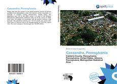 Capa do livro de Cassandra, Pennsylvania
