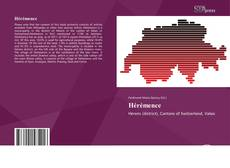 Bookcover of Hérémence