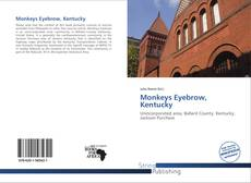 Monkeys Eyebrow, Kentucky kitap kapağı