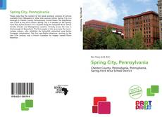 Bookcover of Spring City, Pennsylvania