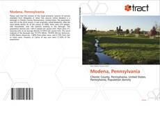 Capa do livro de Modena, Pennsylvania