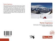 Bookcover of Ponte Capriasca