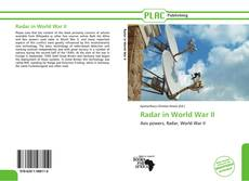 Bookcover of Radar in World War II