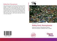 Bookcover of Ridley Park, Pennsylvania