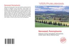 Capa do livro de Norwood, Pennsylvania