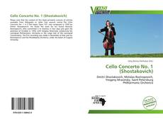 Bookcover of Cello Concerto No. 1 (Shostakovich)