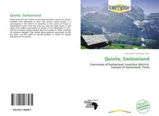 Bookcover of Quinto, Switzerland