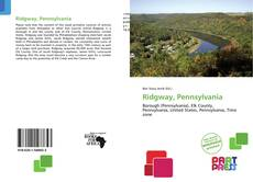Bookcover of Ridgway, Pennsylvania