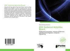 Portada del libro de IEEE Technical Activities Board