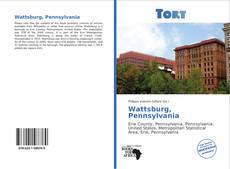 Capa do livro de Wattsburg, Pennsylvania