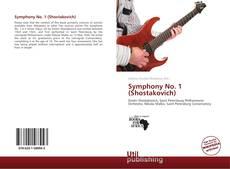 Bookcover of Symphony No. 1 (Shostakovich)