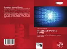 Bookcover of Broadband Universal Service