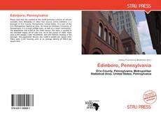 Bookcover of Edinboro, Pennsylvania