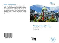 Bookcover of Albion, Pennsylvania