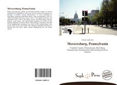 Bookcover of Mercersburg, Pennsylvania