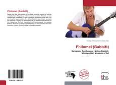 Philomel (Babbitt)的封面