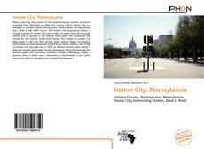 Portada del libro de Homer City, Pennsylvania