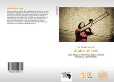 Bookcover of Australian Jazz