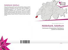 Holderbank, Solothurn kitap kapağı