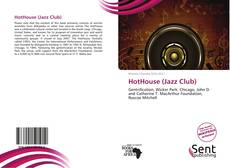 Capa do livro de HotHouse (Jazz Club)