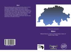 Bookcover of Höri