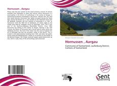 Hornussen , Aargau kitap kapağı