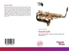 Bookcover of Sunset Cafe