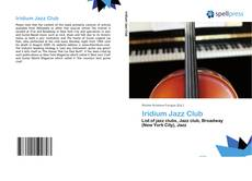 Bookcover of Iridium Jazz Club