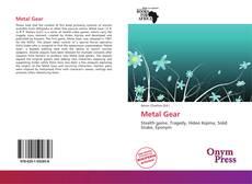 Capa do livro de Metal Gear