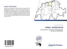 Capa do livro de Inden, Switzerland