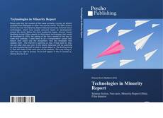 Bookcover of Technologies in Minority Report