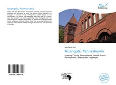 Copertina di Nuangola, Pennsylvania