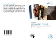 Bookcover of Chicago Jazz Festival